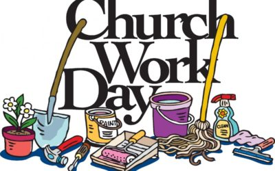 Church School Workday September 11th