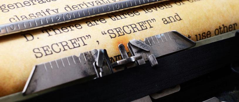 Secrets, Secrets…